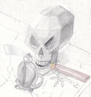 Pirate Skull by Airanuva
