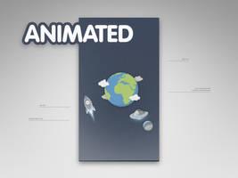 Parallax Earth Animated