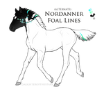 A5967 Foal Design - SpearMint