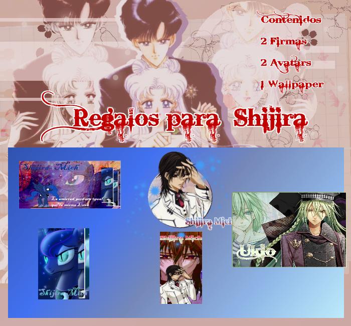 Regalos para Shijira by EL-FENIX-INMORTAL