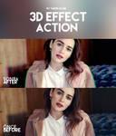 Action - 3D Effect