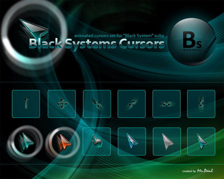 Black and White System cursors by GucalovPavel on DeviantArt