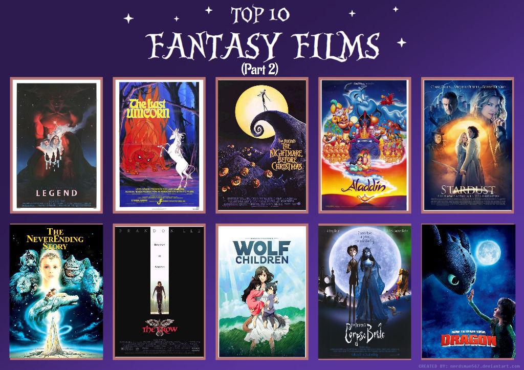 Top 10 Fantasy Filme