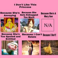 Why I Dislike This Princess (UPDATED)