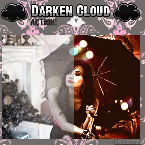 Darken Cloud Action by liveandsmile