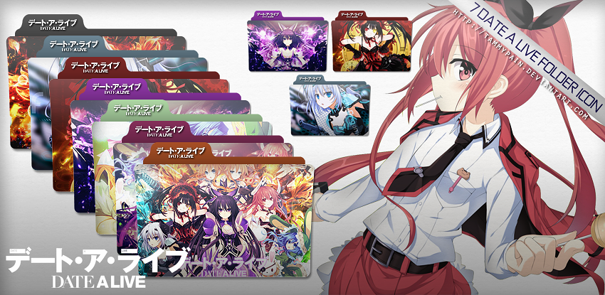 Date A Live Icon Pack By Tammypain On DeviantArt