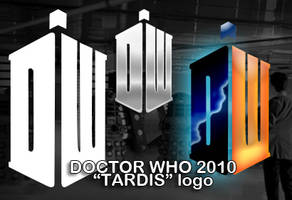 Doctor Who 2010 Tardis Logo by Android18a