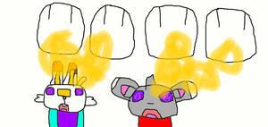 Pachirisu Twins Hypnotizise to Aaron and Calem