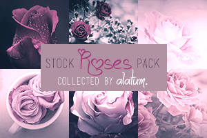20 Stock Pack: Roses [collected] by Skrzydlami-alatum