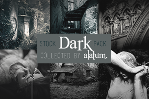 42 Stock Pack: Dark [collected] by Skrzydlami-alatum