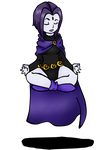 Raven Meditating by AskThyRavenNevermore