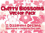 Vector Pack - Cherry Blossoms