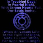 Blue Lantern Oath Animation 3 by Windthin