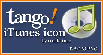 iTunes Tango Icon by coollettuce