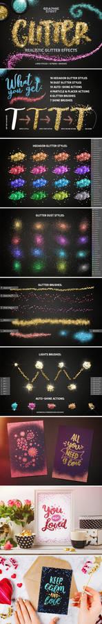 Glitter Effect Photoshop TOOLKIT