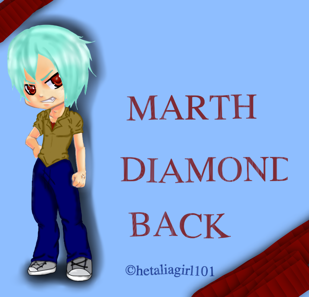 Marth DiamondBack::WallPaper:: by hetaliagirl101