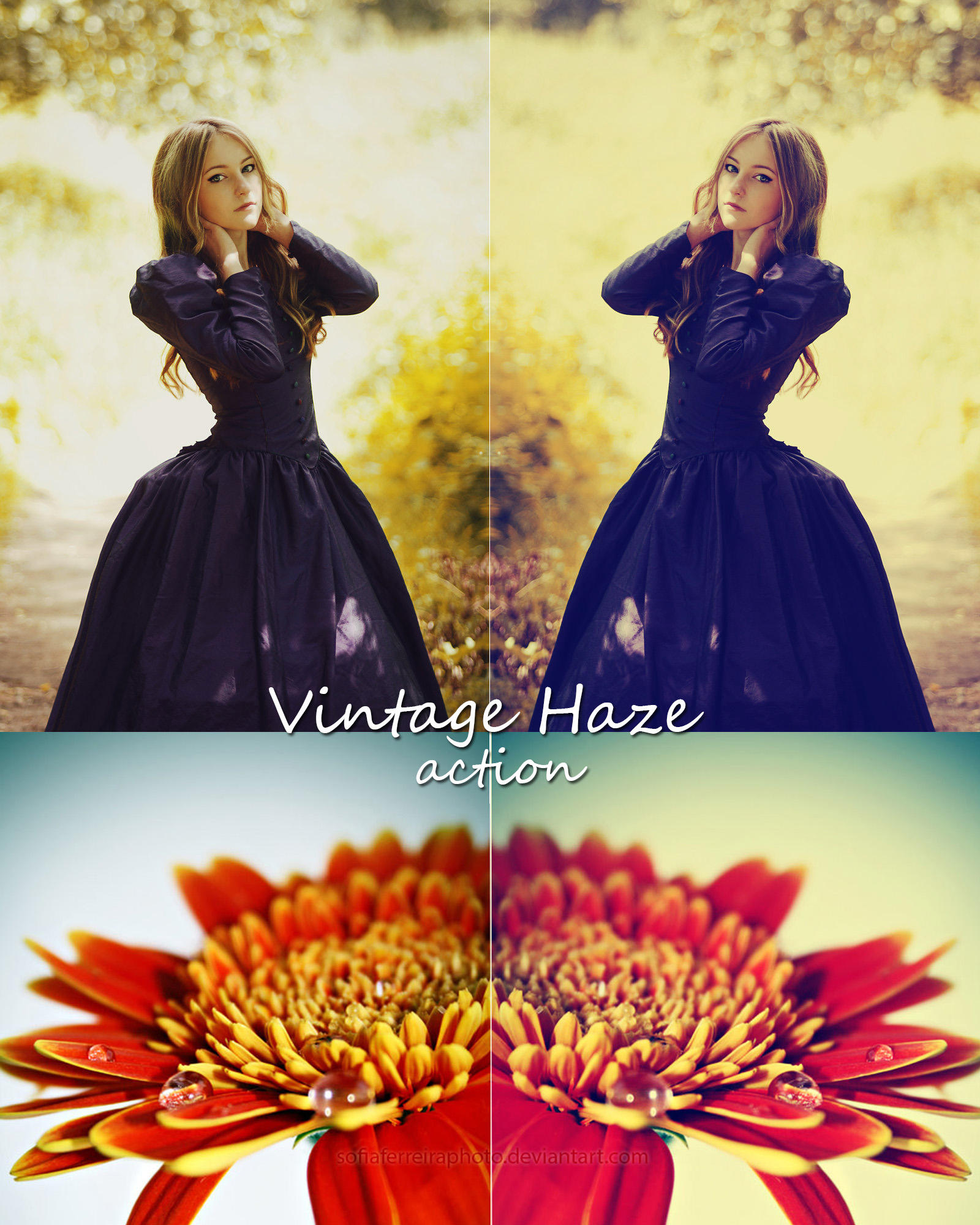 Vintage Haze - Photoshop action by sofiaferreiraphoto
