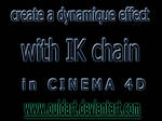dynamique effect with IK chain