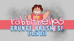 rabbithelps grunge brushes! pack 03