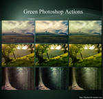 Green Photoshop Actions