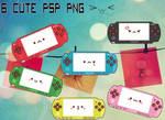 6 CUTE PSP PNG