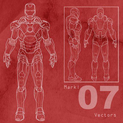 Free Mark 7 Ironman Vectors By MattClarke ...