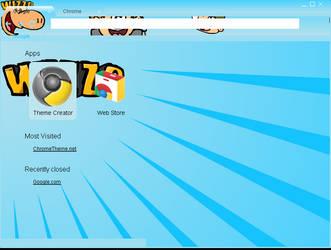 Wizzo Google Chrome Theme by WizzJet