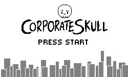 Corporate Skull - Title Screen
