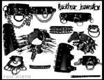 Leather Brushes