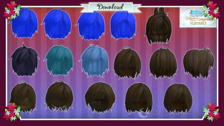 Hair pack 03 by Shaka-yo