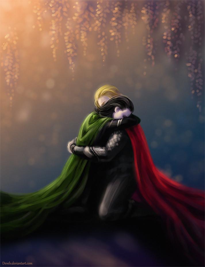Thor x Sick Reader x Loki: Something Wonderful by Tarnisis
