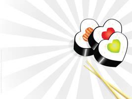 I love sushi by mj-coffeeholick