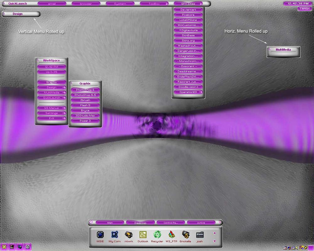 Purple Violet Squish by simplistic