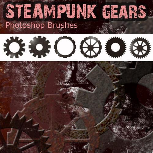 Steampunk Photoshop Brushes