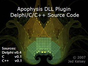Apophysis DLL Plugin Sources