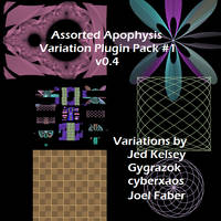 Apophysis Plugin Pack 1 v0.4 by Lu-Kout