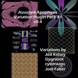 Apophysis Plugin Pack 1 v0.4