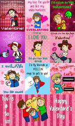 Let's Player Valentine's Day Cards by ThatOneNPC