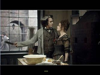 Sweeney Todd and Mrs. Lovett by ChibiLauryn