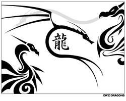 DKz Dragons by dragonkahn