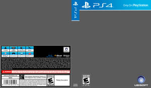 PS4 Cover Template