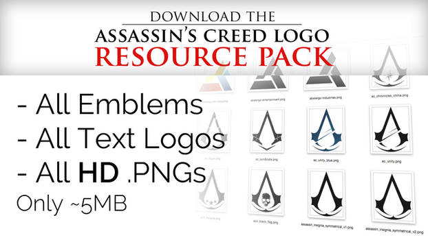 Assassin's Creed Logo Resource Pack