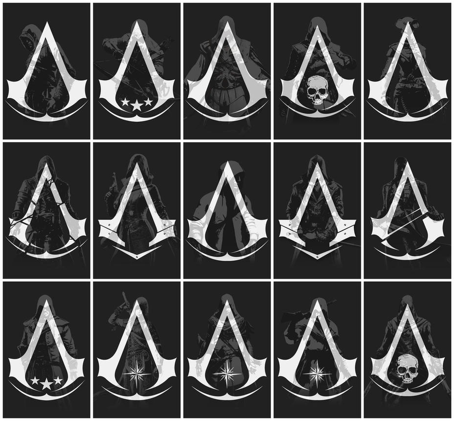 Assassin's Creed Poster Set Full - by McH by irakli008 on ...