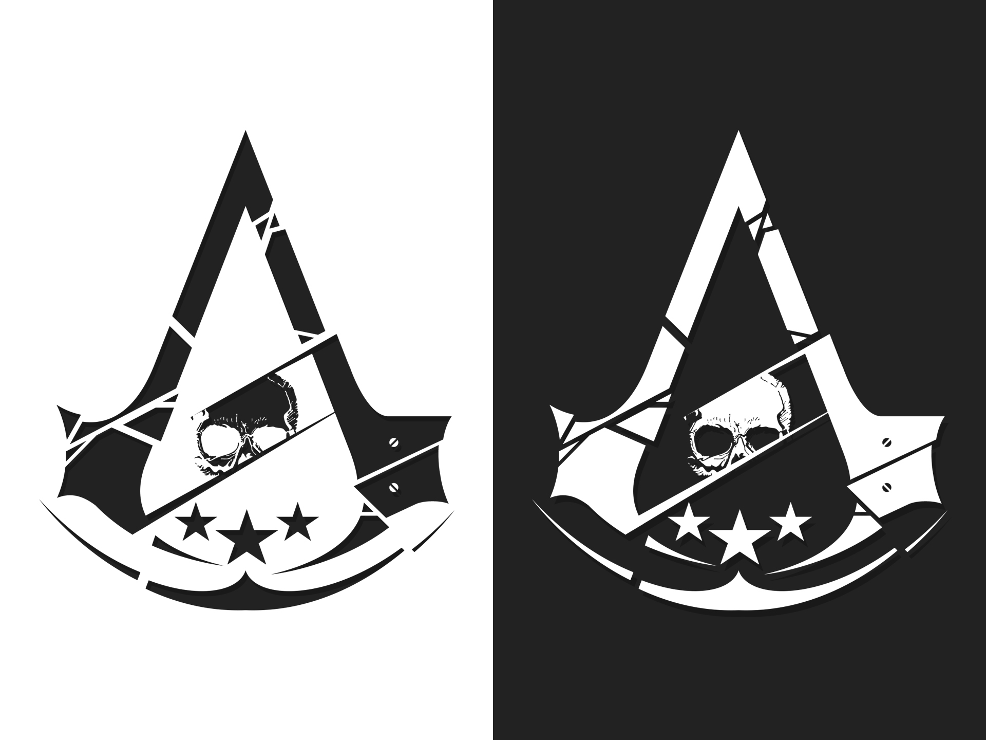 Assassin's Creed Hybrid Logo (PNG included) by irakli008 ...