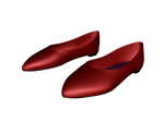 Pointy Toe Flat for Aiko3 and Genesis 2 Female