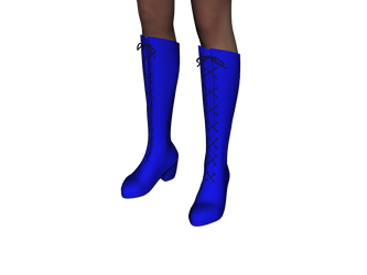 Boots Style 3 for Genesis 2 Female - DAZ Studio by amyaimei