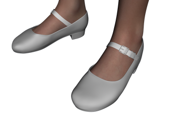 Mary Jane Shoes for Genesis 2 Female - DAZ Studio by amyaimei