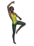 Yoga/Workout Outfit for Genesis 2 Female