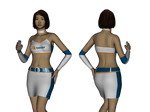 Promo Model Outfit for Genesis 2 Female