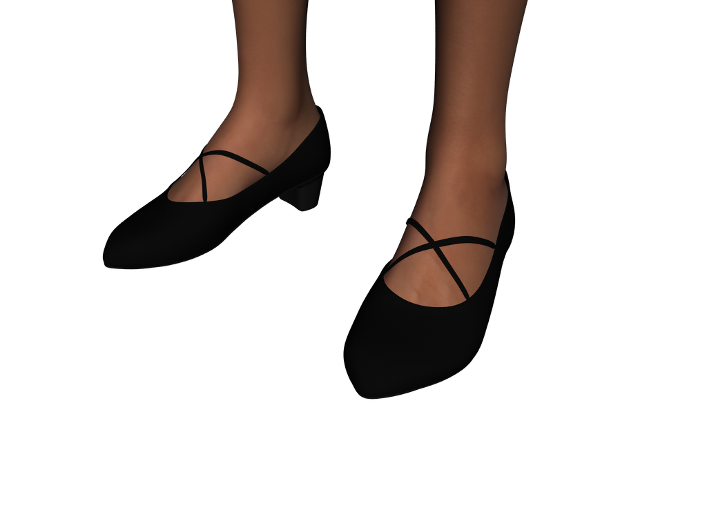 Pointy X-strap Pumps for Genesis 2 Female